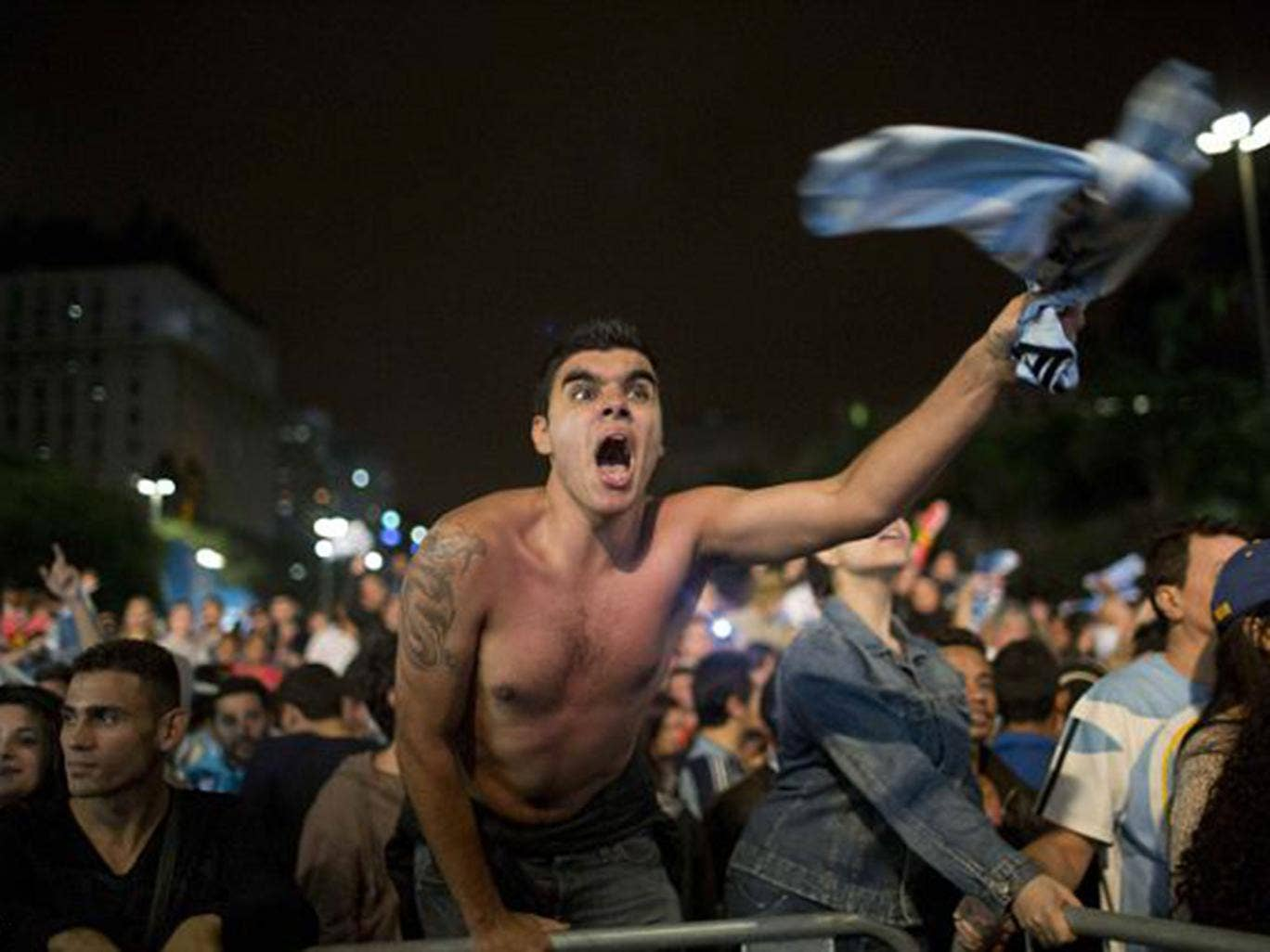 There were mass celebrations across Argentina as the country's national team reached their first World Cup final for 24 years