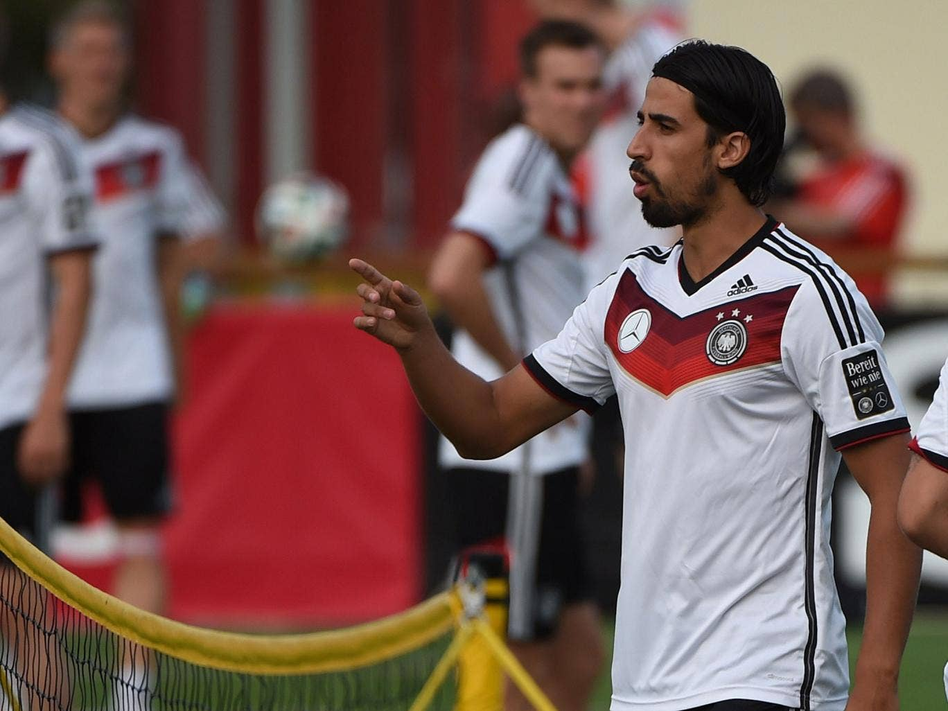Real Madrid and Germany midfielder Sami Khedira has been linked with a move to the Premier League with both Arsenal and Chelsea interested
