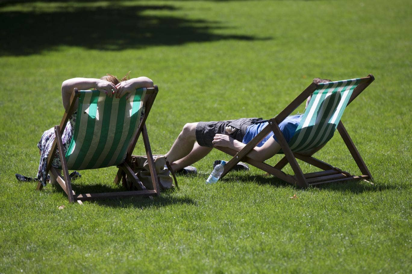 Forecasters have said that it could creep up to 30 degrees this week