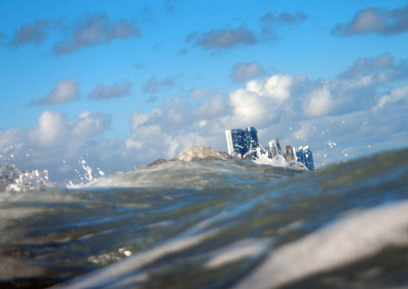In the future Florida could be one of the most susceptible places when it comes to rising water levels