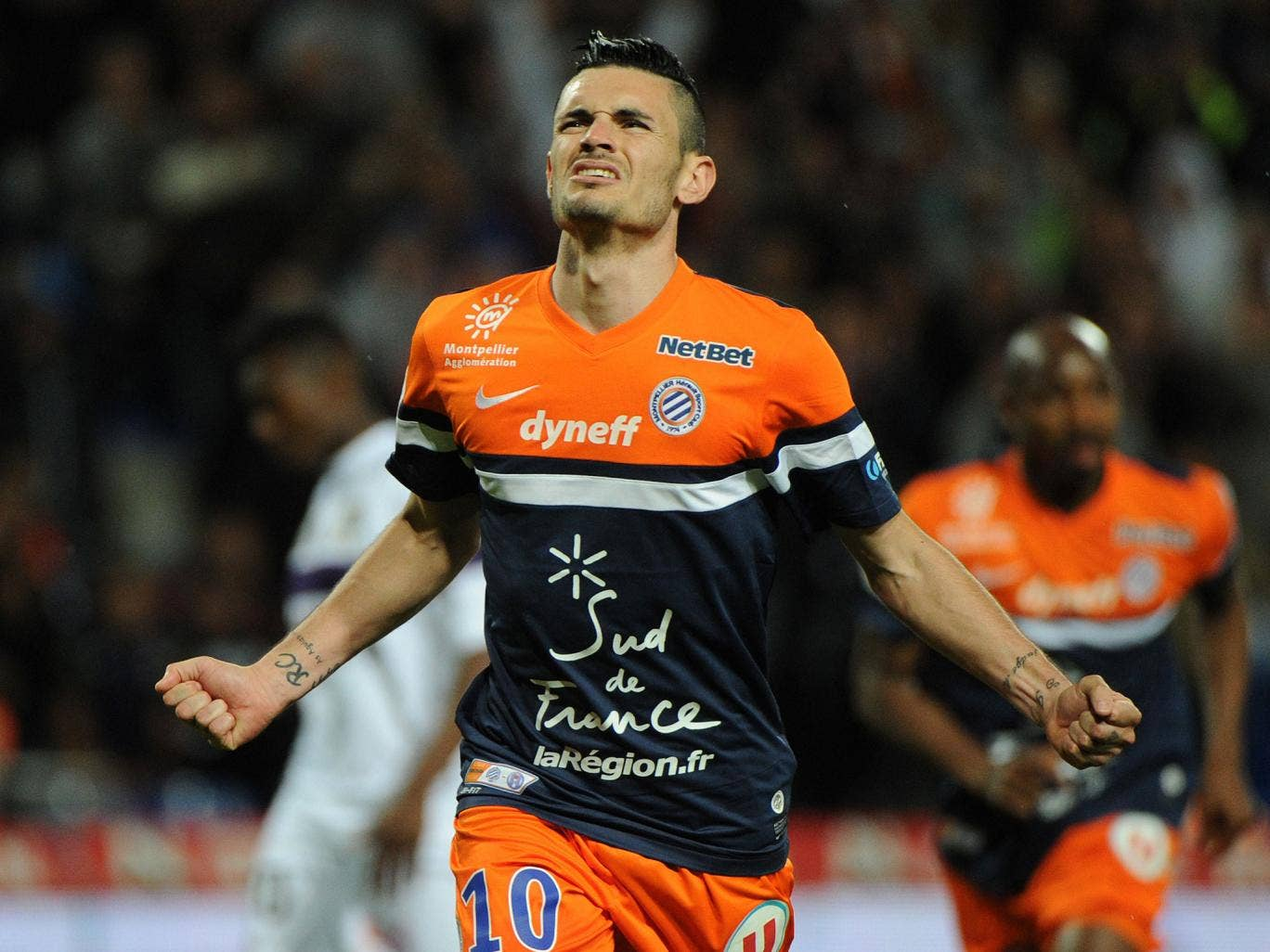 Remy Cabella has joined Newcastle from Montpellier
