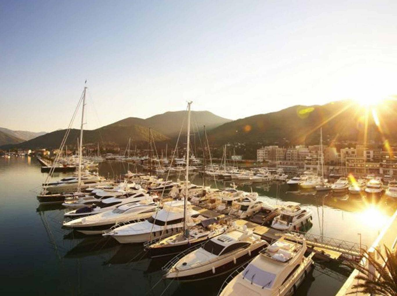 Take a view: Porto Montenegro