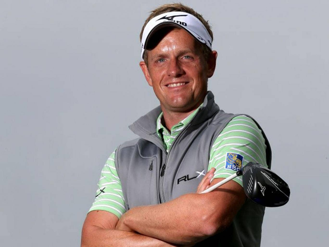 Luke Donald says he is about '90 per cent of the way there' with his new swing