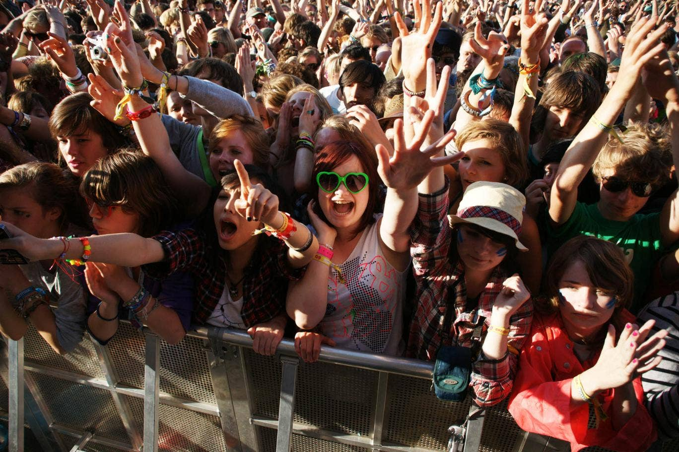 Fans watch acts perform live at Latitude Festival