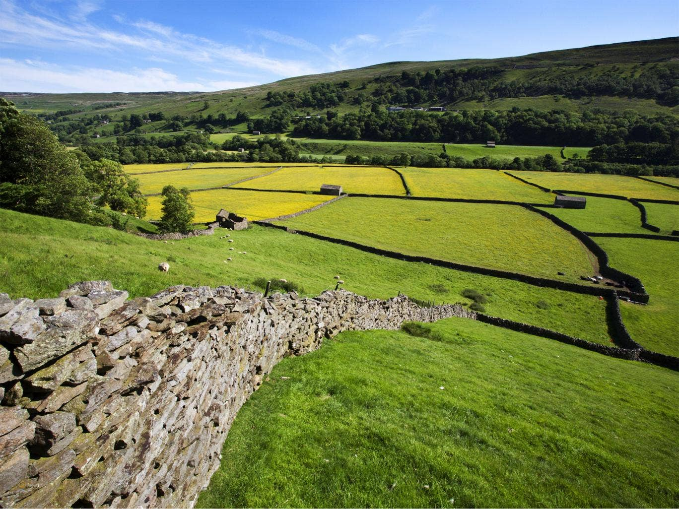 The Yorkshire Dales. National Parks cover 10 per cent of England