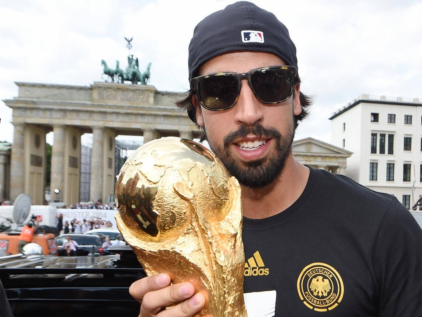 Sami Khedira is only the 10th player to win the Champions League and World Cup in the same year