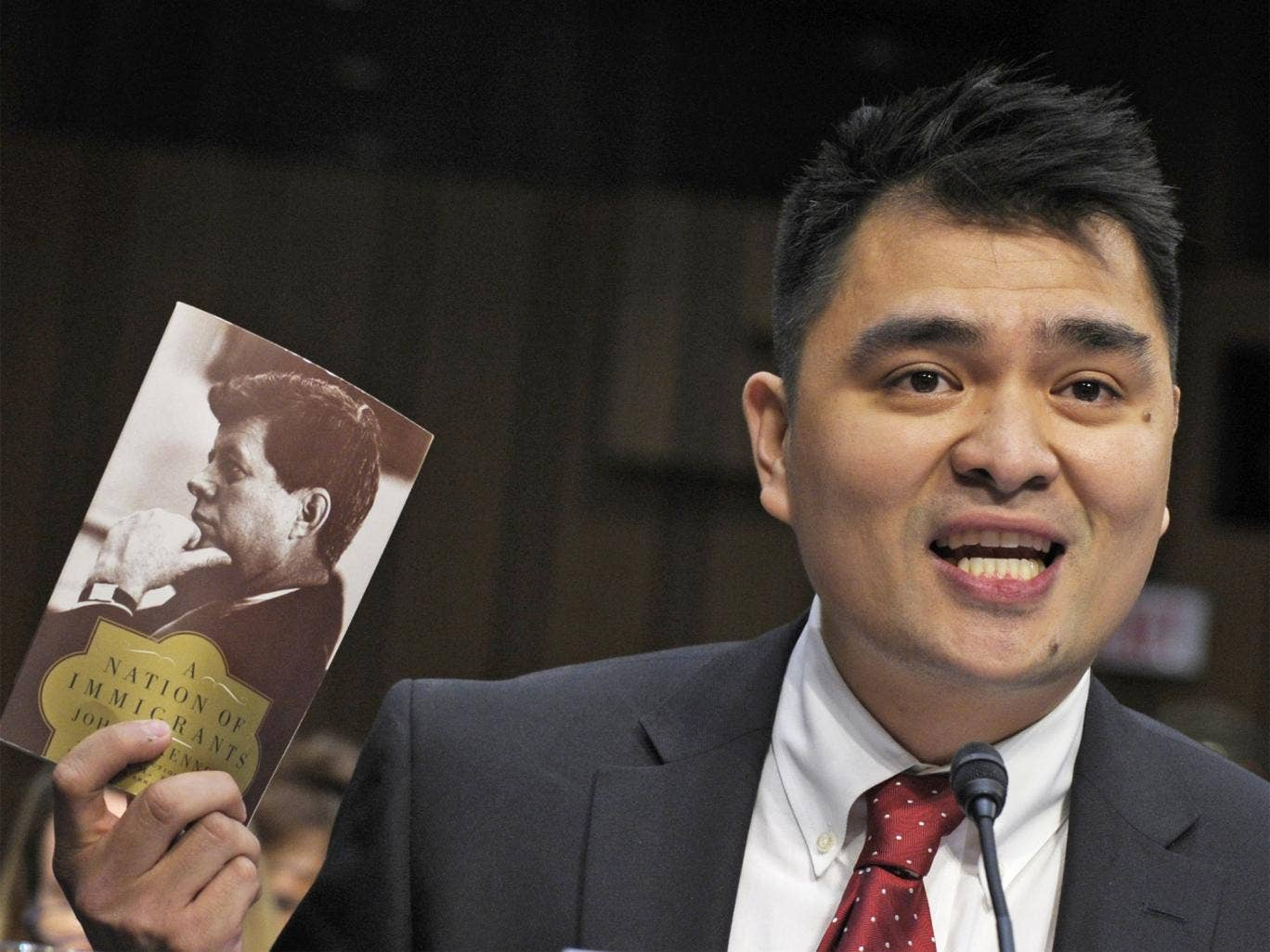 Pulitzer Prize-winning journalist and immigration rights activist, Jose Antonio Vargas