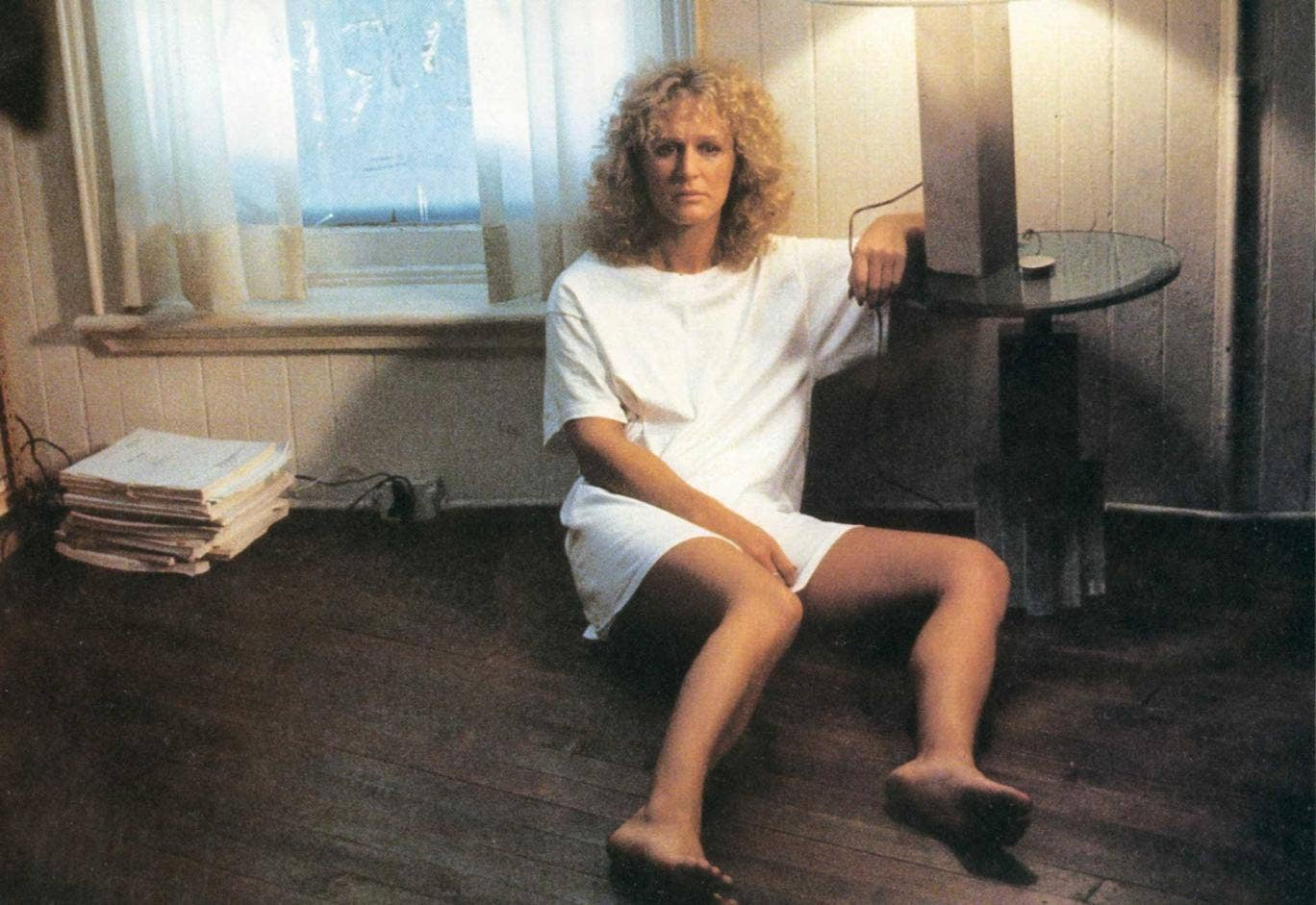 Implausibly dramatic: Glenn Close from the film 'Fatal Attraction', to which this book is compared