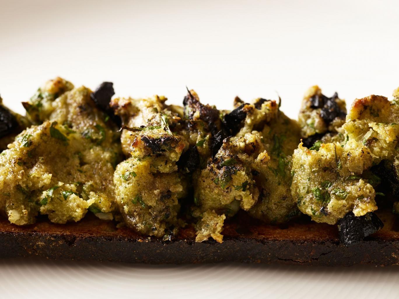 Inspired by Korea: Black garlic and bone marrow toasts