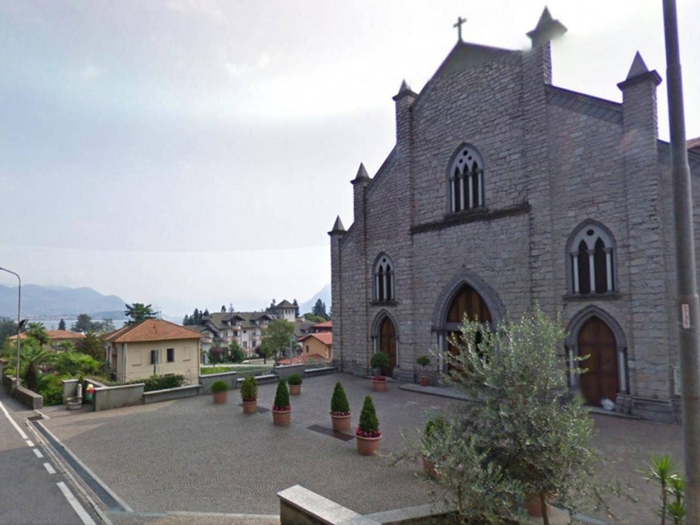 The Church where Father Cavaletti worked before being arrested