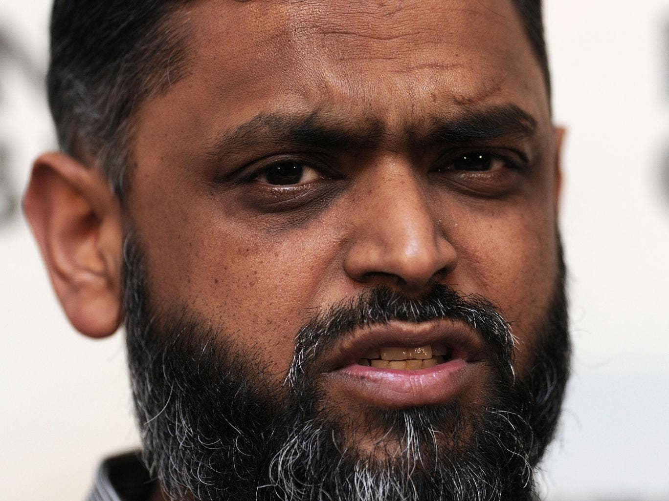 Moazzam Begg pictured in January 2012