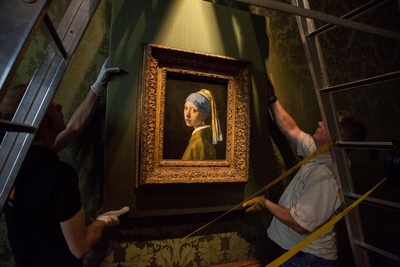 'Girl with a Pearl Earring' by Johannes Vermeer, c. 1665