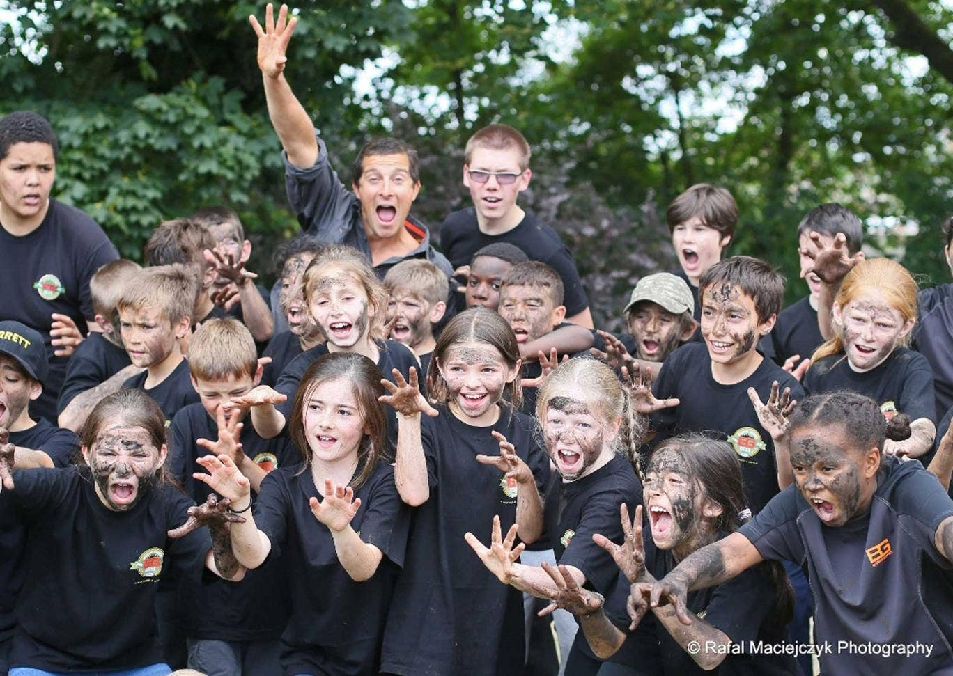 Children can get a sense of adventure at the Bear Grylls Survival Academy