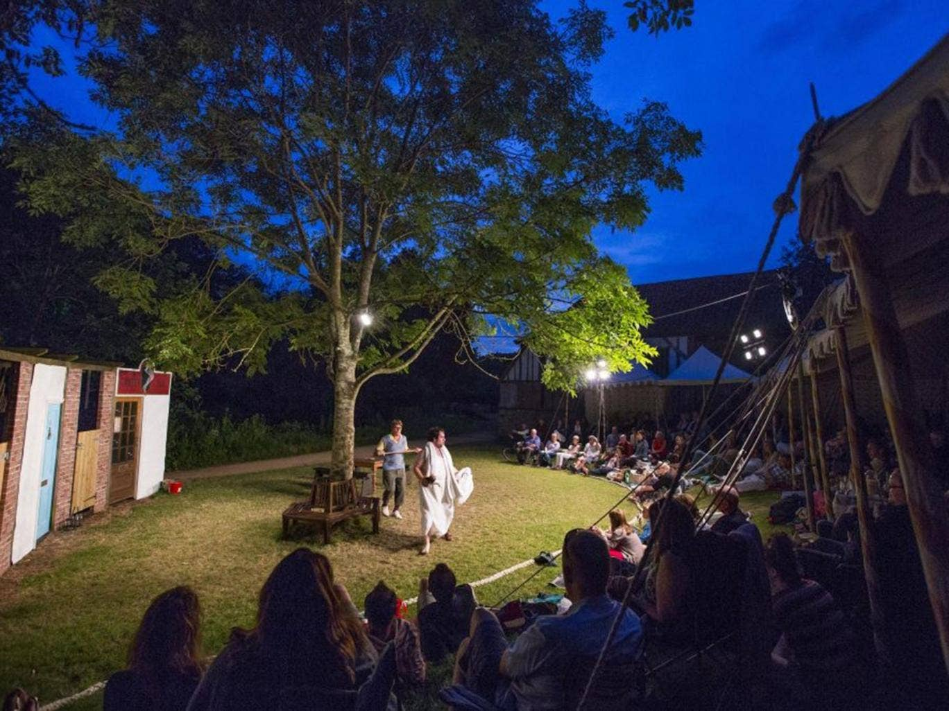 Into the woods: The Merry Wives of Windsor at Petersfield