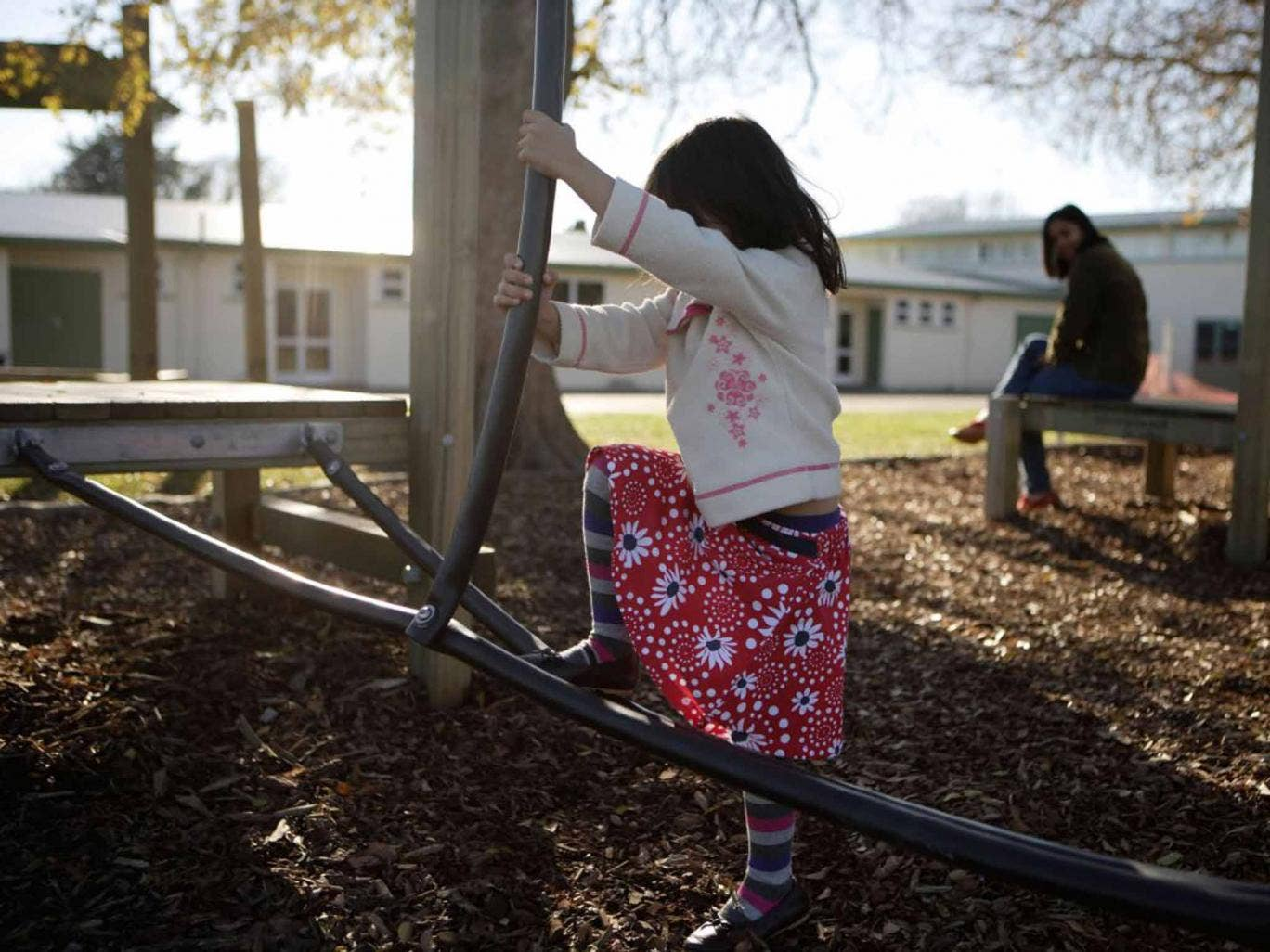 Child's play: letting young people roam outdoors directly contradicts the current climate