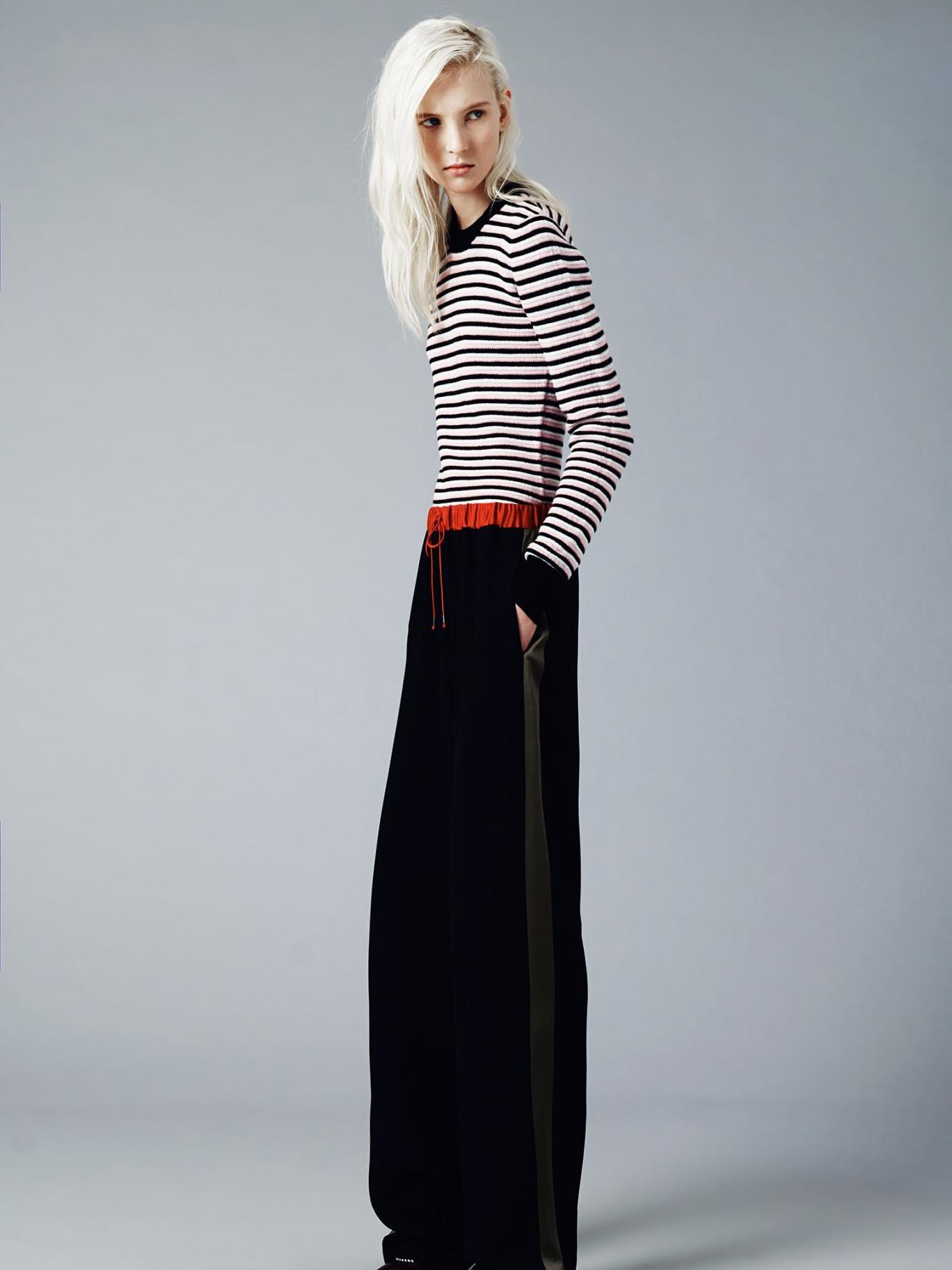 Model wears By David Phelan Jonathan Saunders prefall 2014