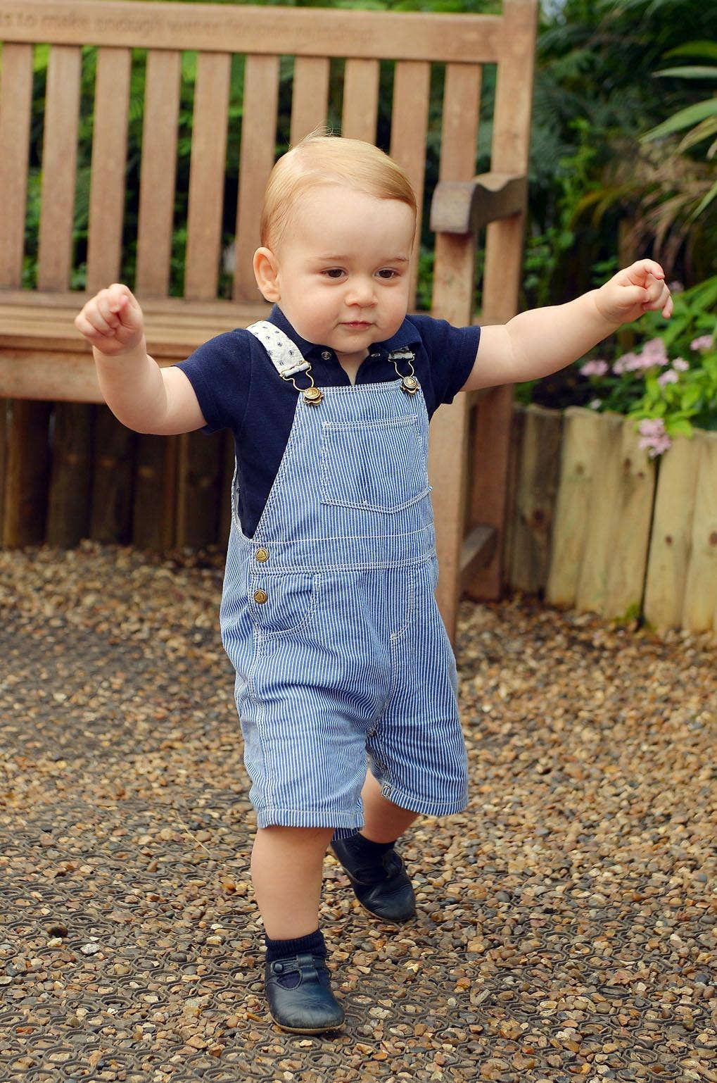 Many respondents adored Prince George's cuteness, identifying things like his smile and chubby cheeks