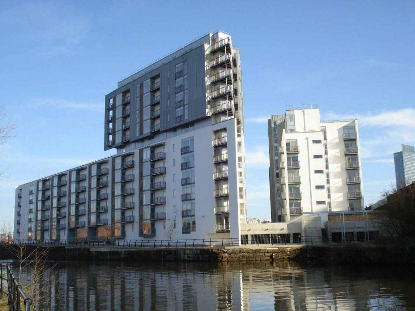Two bedroom flat for sale, Vie Development, Salford, Manchester M3. On with Jordan Fishwick at £137,500.