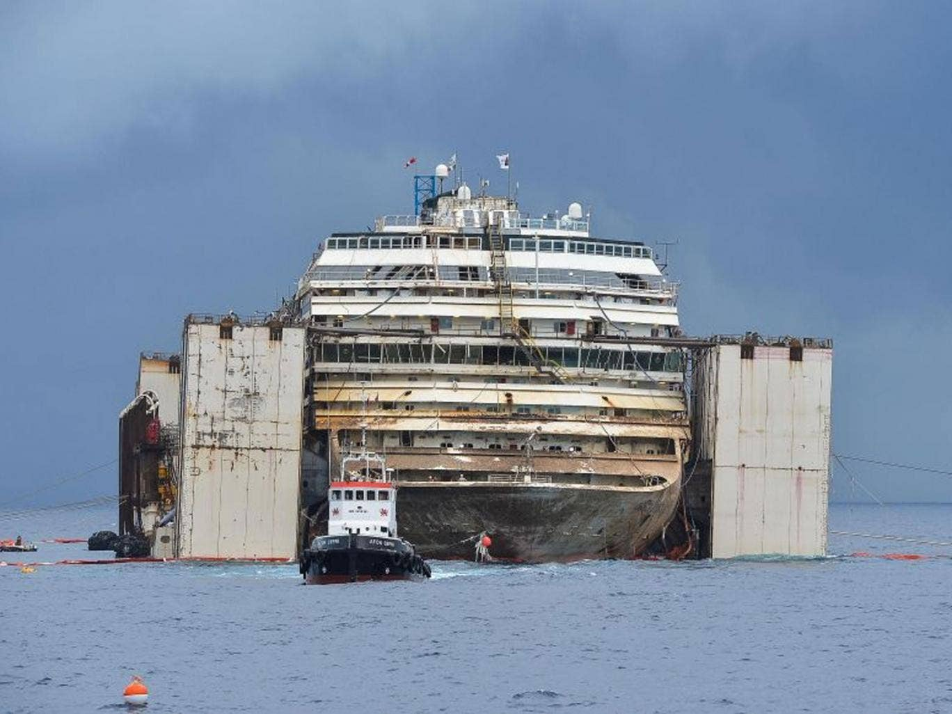 Costa Concordia Cruise Ship Towing Delayed By Final