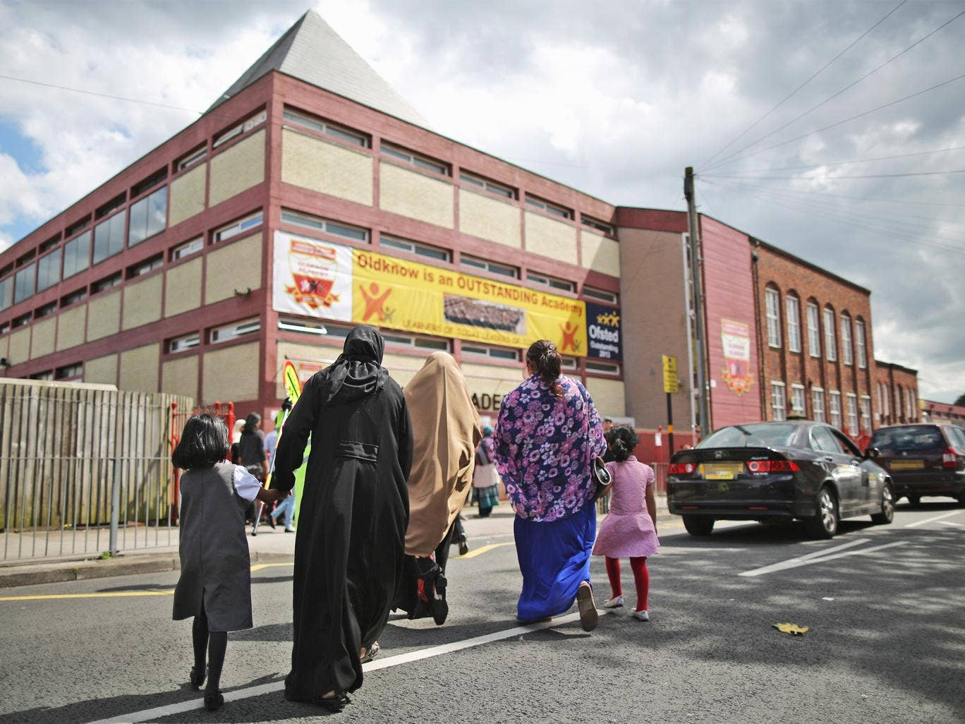 Oldknow Academy, one of the Birmingham Schools at the centre of the 'Trojan Horse' affair