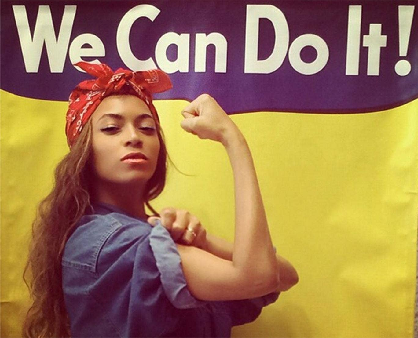 Bey can do it: Beyoncé re-enacts Rosie the Riveter's pose