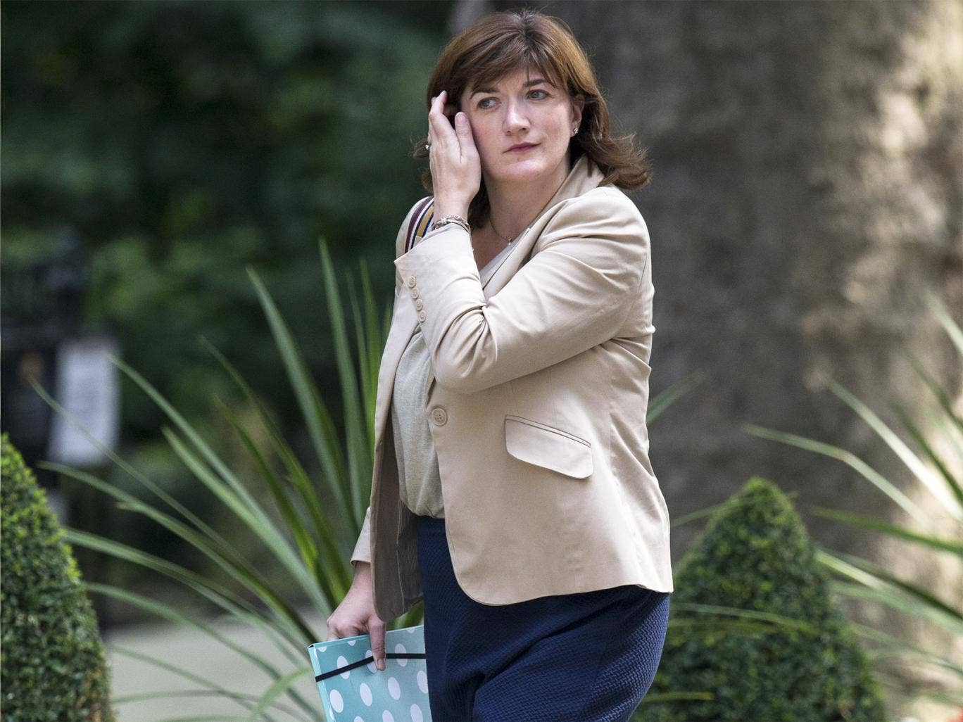 The new Education Secretary, Nicky Morgan