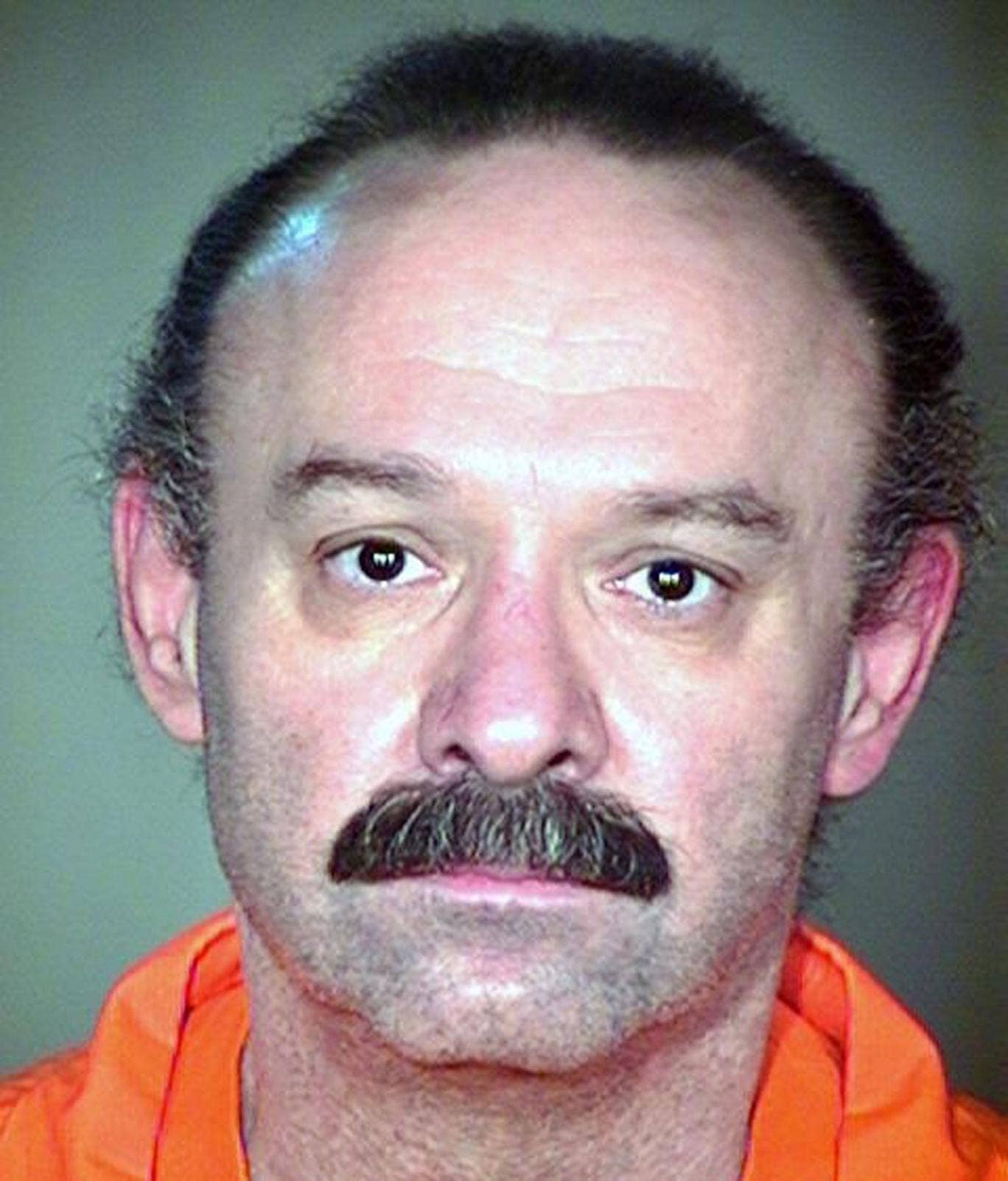An undated Arizona Department of Corrections photo showing Joseph Rudolph Wood, who was sentenced to death for the killing in 1989 of his ex-girlfriend and her father