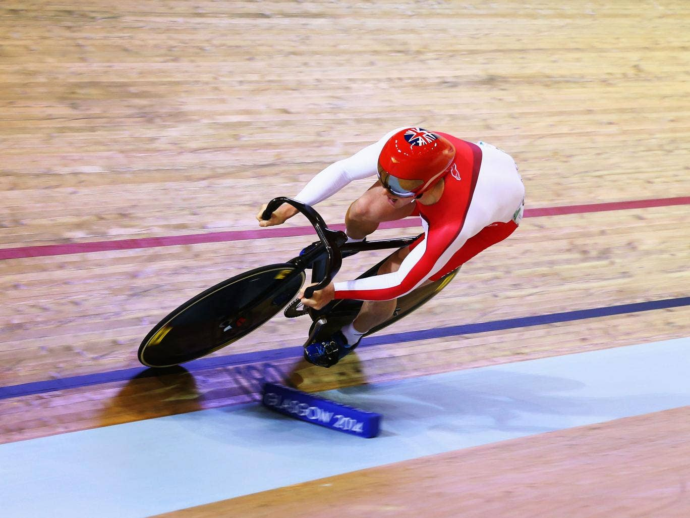 England's Jason Kenny finished 11th in the men's sprint qualifying