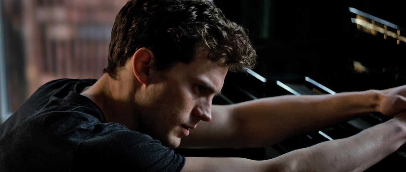 Jamie Dornan stars as Christian Grey in the Fifty Shades of Grey movie
