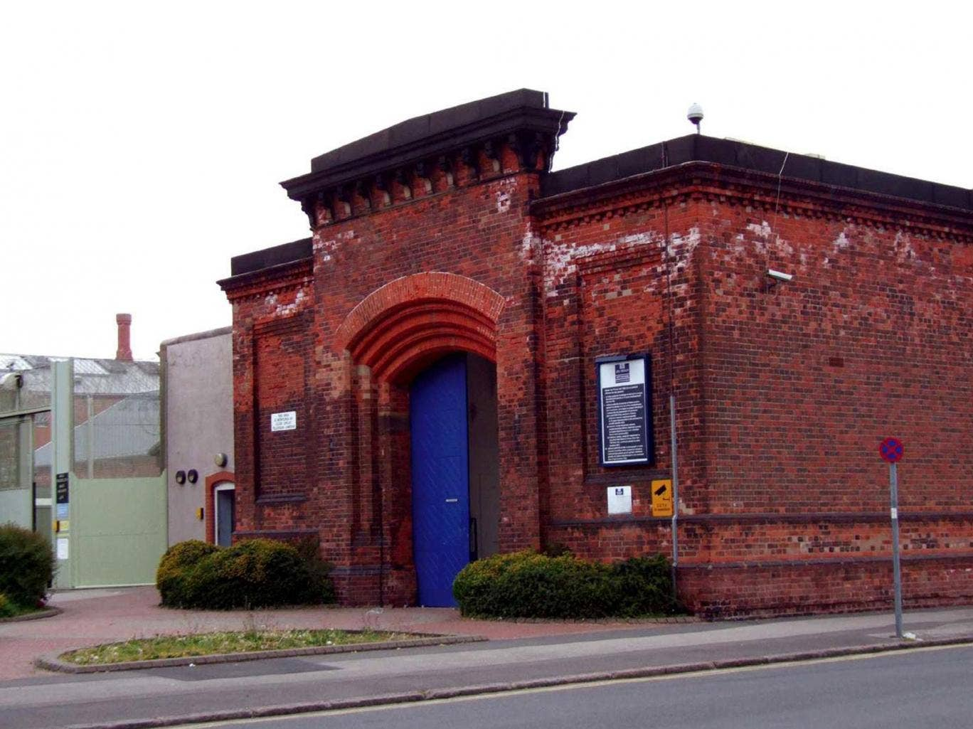 HMP Nottingham, located in the Sherwood area of Nottingham