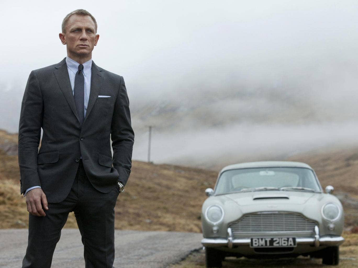 Daniel Craig, pictured here in Skyfall, is returning as James Bond for Spectre