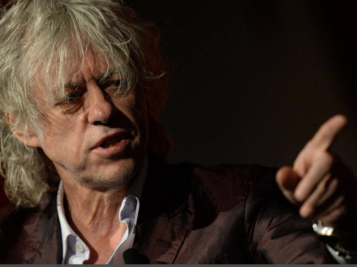 The veteran poverty campaigner Sir Bob Geldof issues a stark challenge to emerging economies at the Melbourne HIV/Aids conference