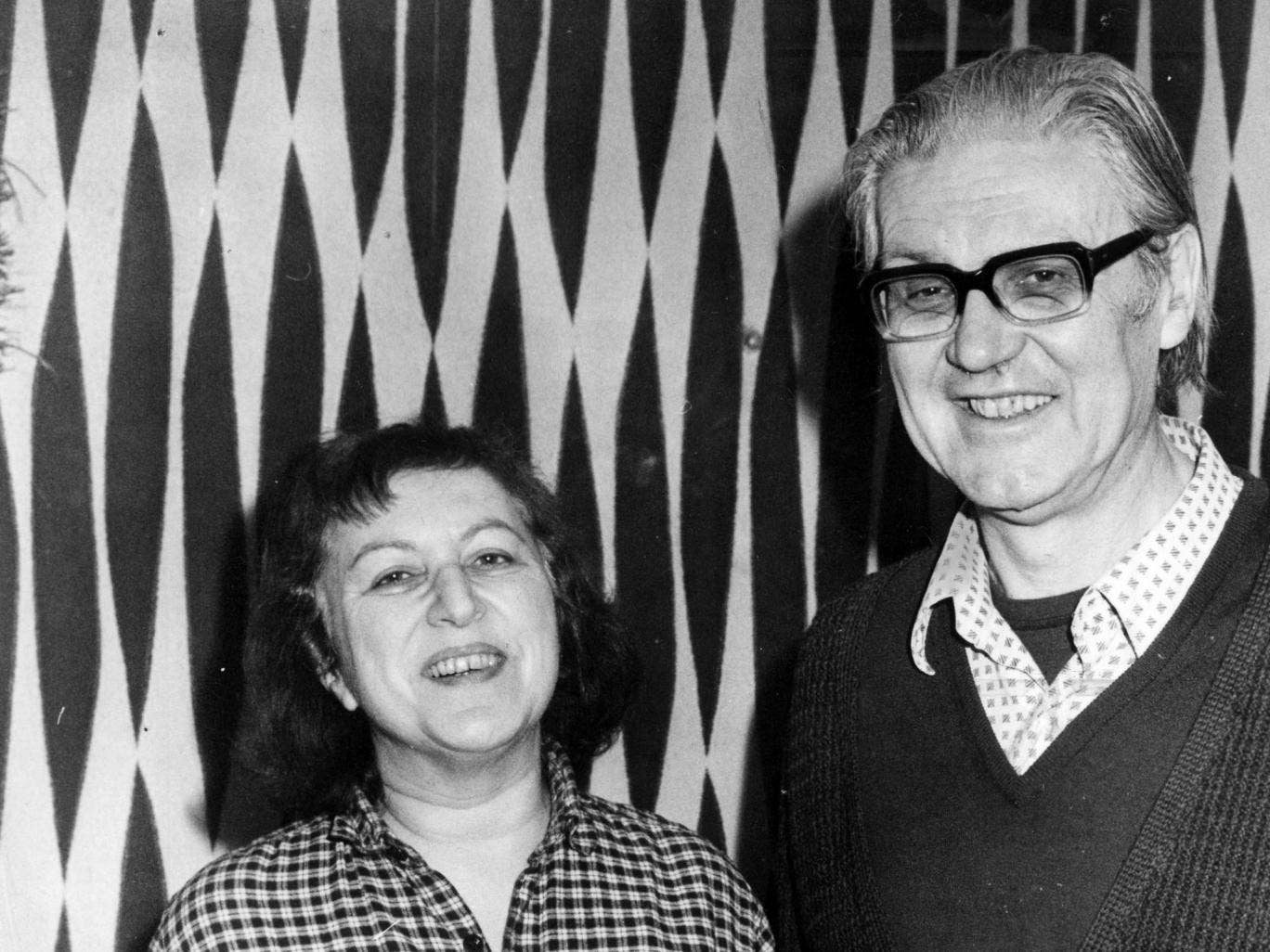 Vera and Vladimir Derer at their home in Golders Green, north London, in 1981