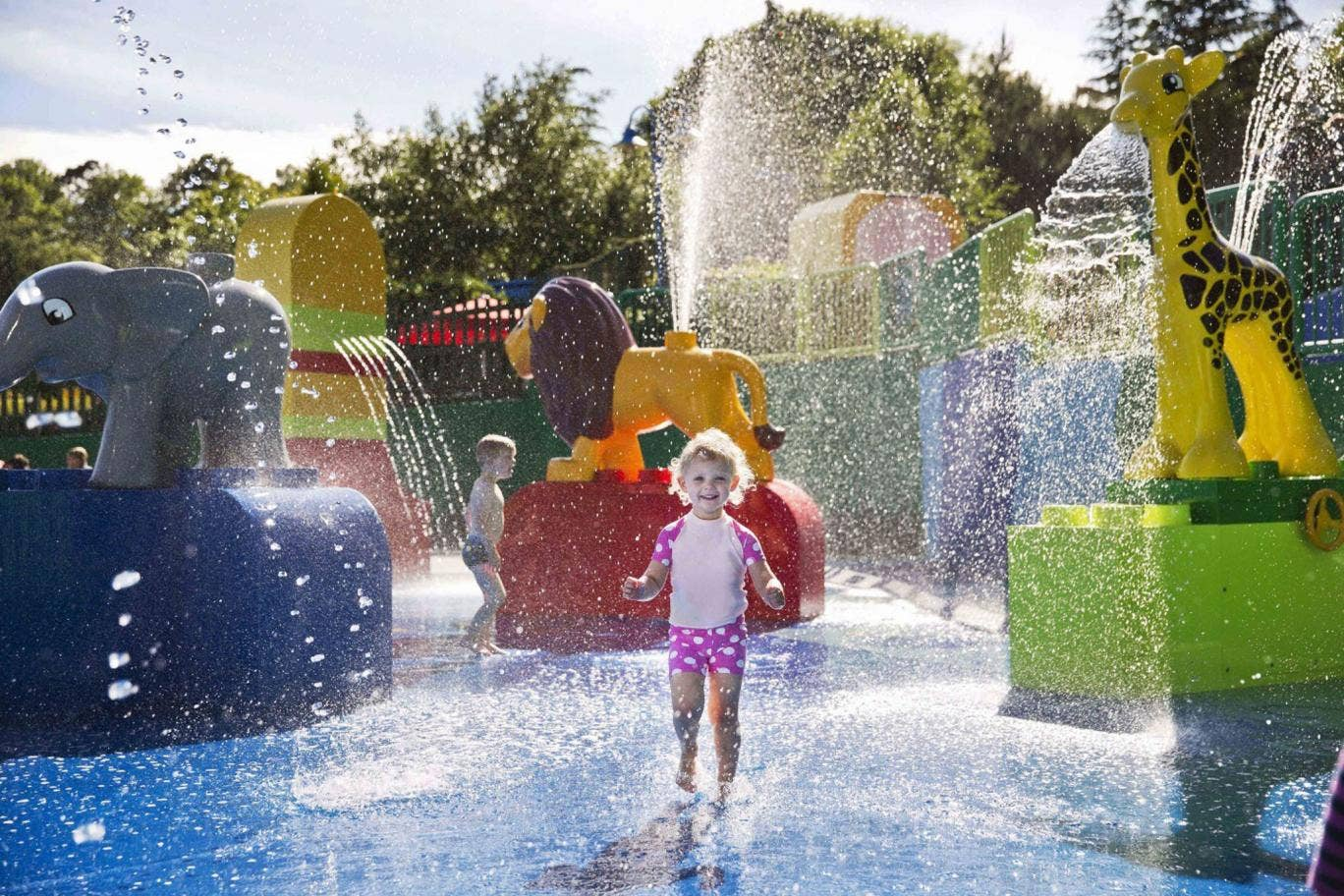 Splash out: at Legoland Windsor you can get a two-for-one deal