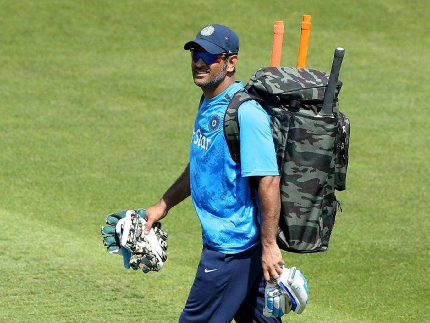 Dhoni did not name Anderson