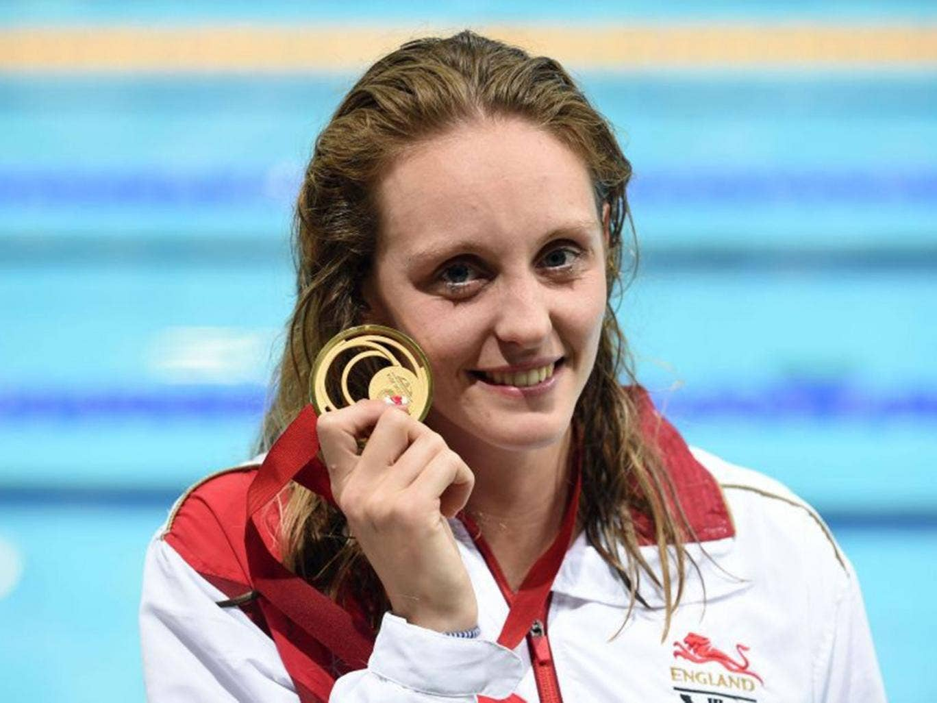 Halsall broke her personal best in the 50m butterfly