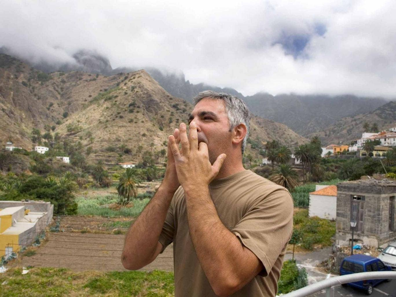 Whistle while you work: A silbador in La Gomera