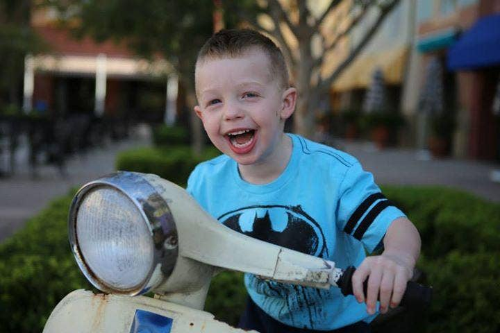 Danny Nickerson, 6, has received 15,000 cards and presents from well-wishers around the world