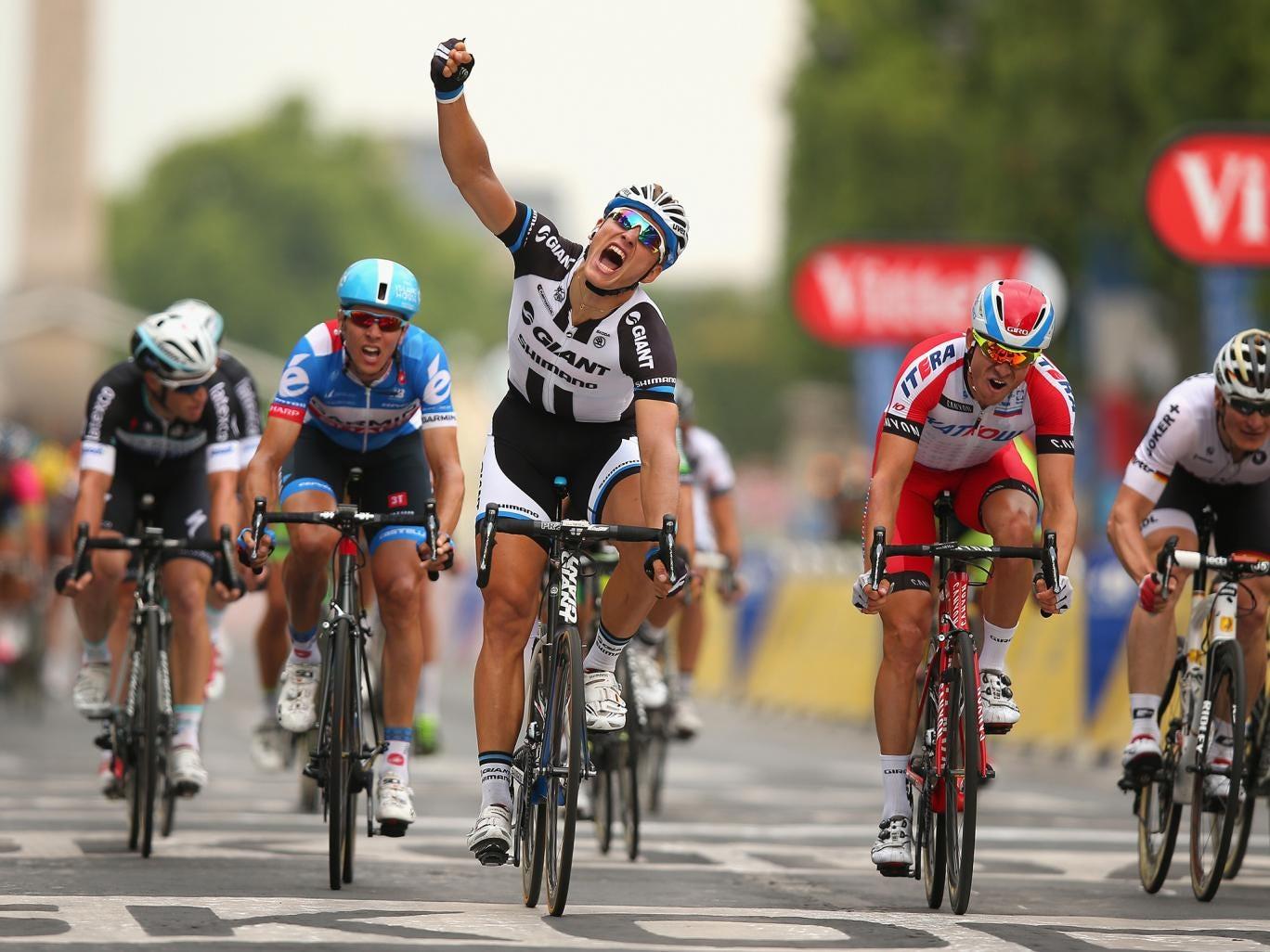 Tour de France 2014: Marcel Kittel wins final stage on ...