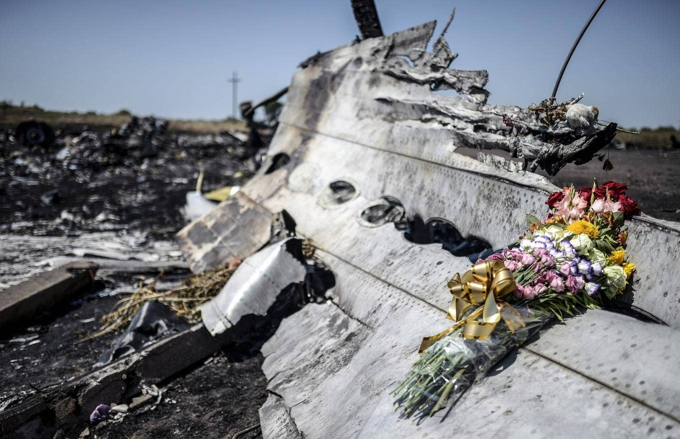 298 people lost their lives when the plane was shot down