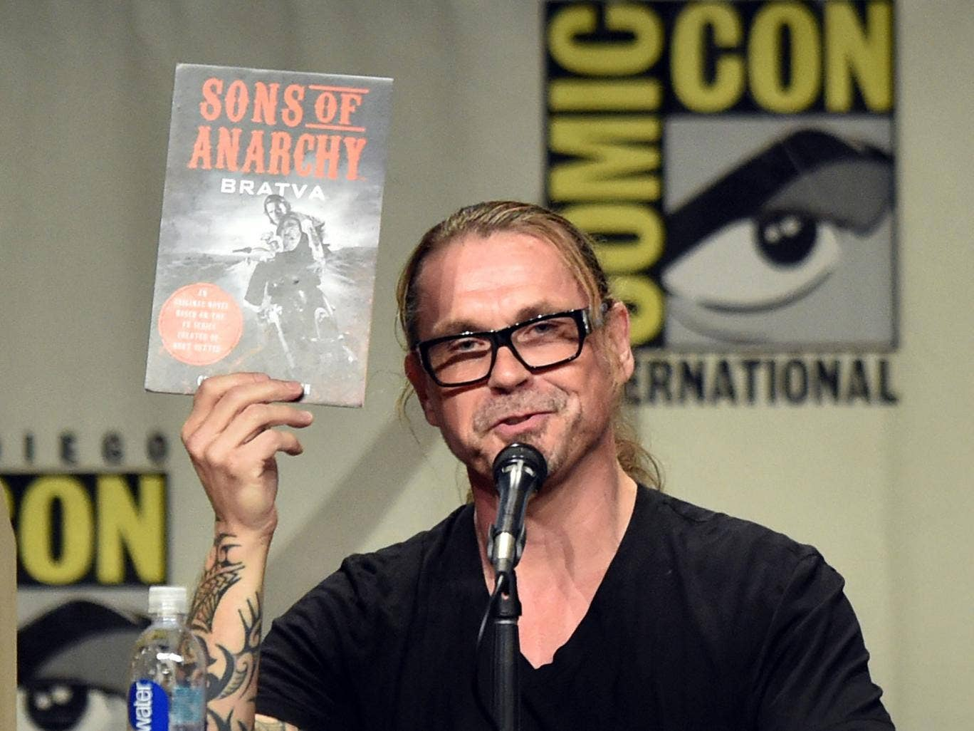 Creator/executive producer Kurt Sutter attends FX's Sons of Anarchy panel during Comic-Con