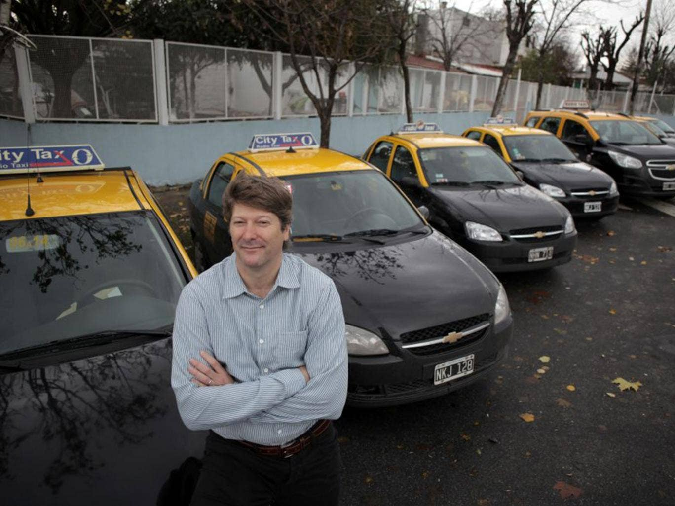 Russell Abrams, a former Goldman Sachs trader, intends to buy 1,000 more Argentinian taxi licences