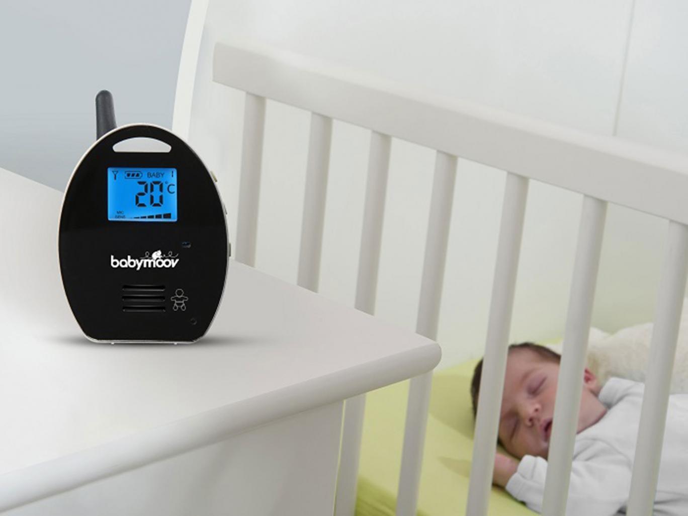 babyphone babymoov digital green. Black Bedroom Furniture Sets. Home Design Ideas