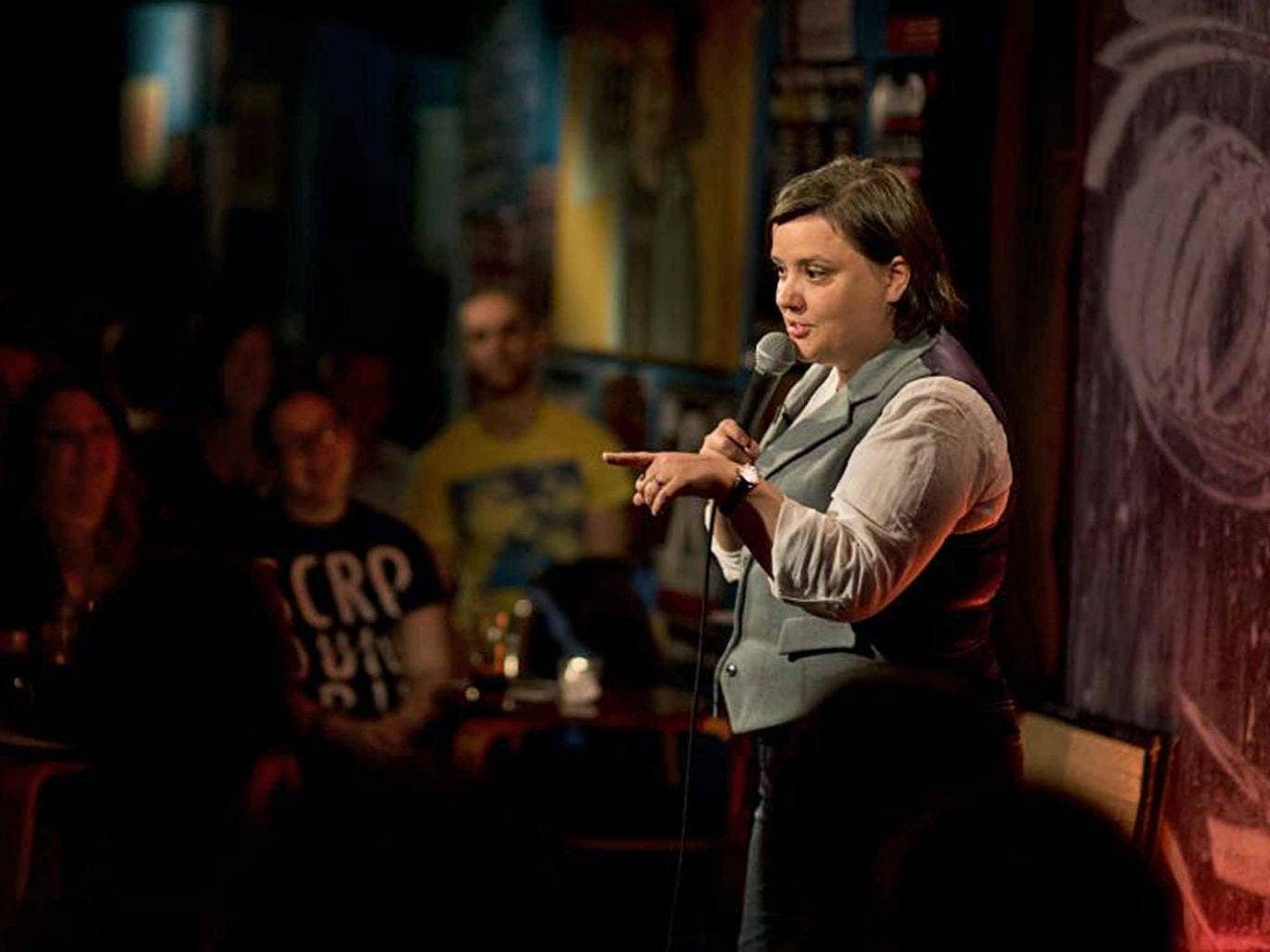 Making her point: Susan Calman in 'The Alternative Comedy Experience'