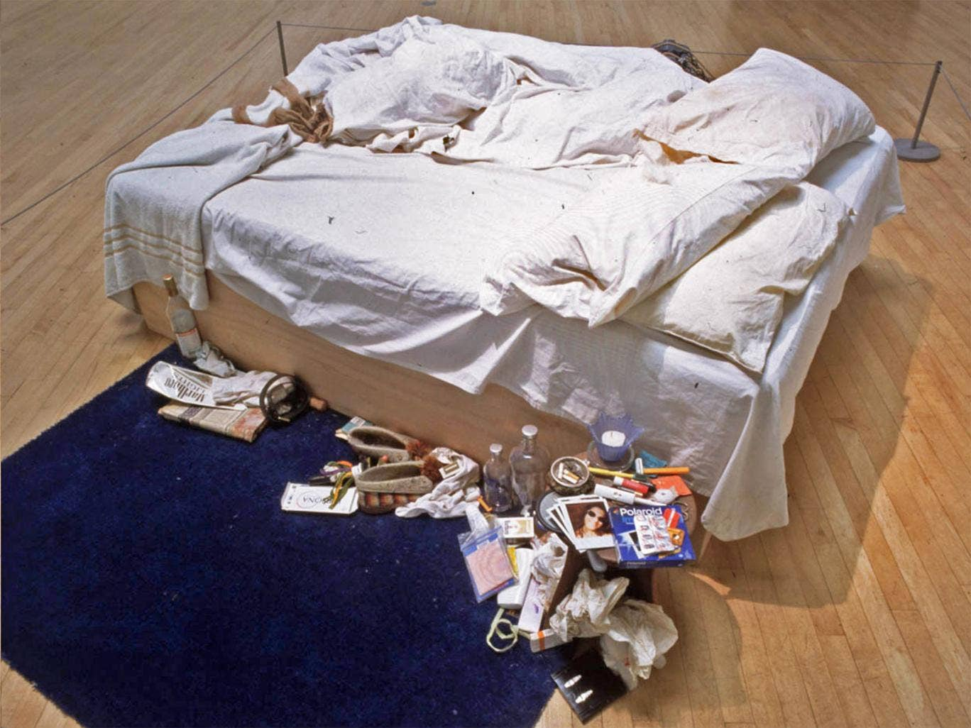 Tracey Emin's 'My Bed' is returning to the Tate more than 15 years after it first caused shockwaves at the gallery