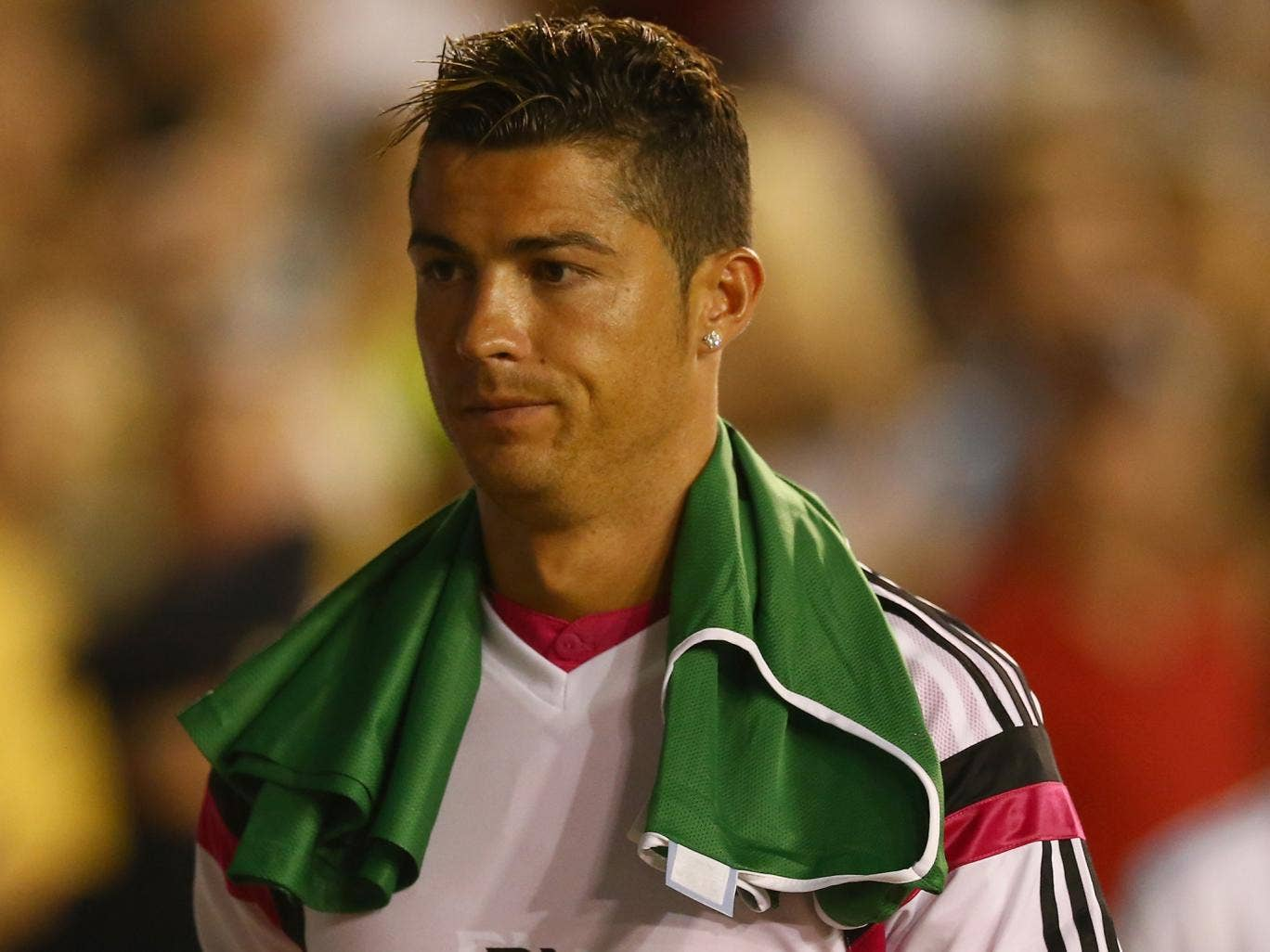 Ronaldo pictured during Real Madrid's pre-season tour
