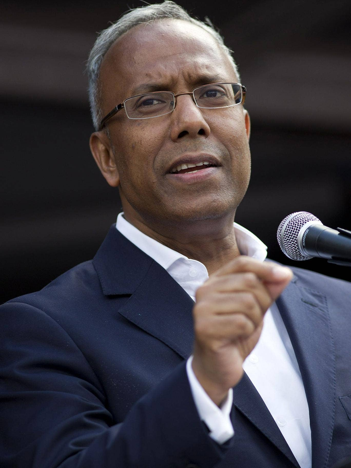Lutfur Rahman provoked controversy when he followed both Preston and Bradford's example by tweeting a picture of the Palestinian flag flying above Mulberry Place in the Dockland's.