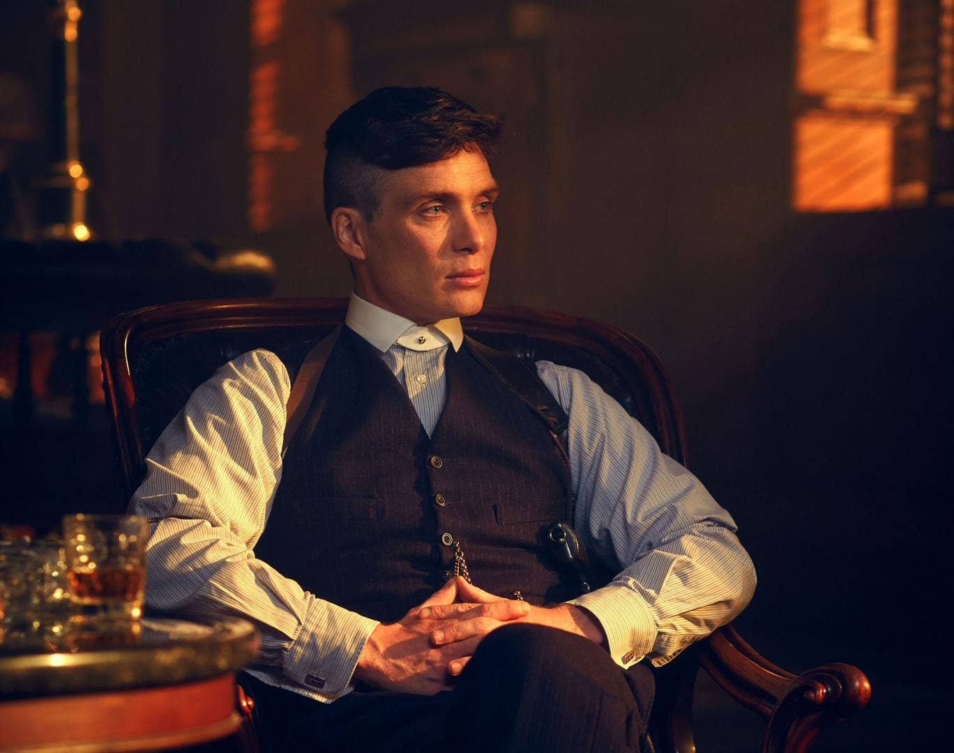 Cillian Murphy stars as Tommy Shelby in Peaky Blinders