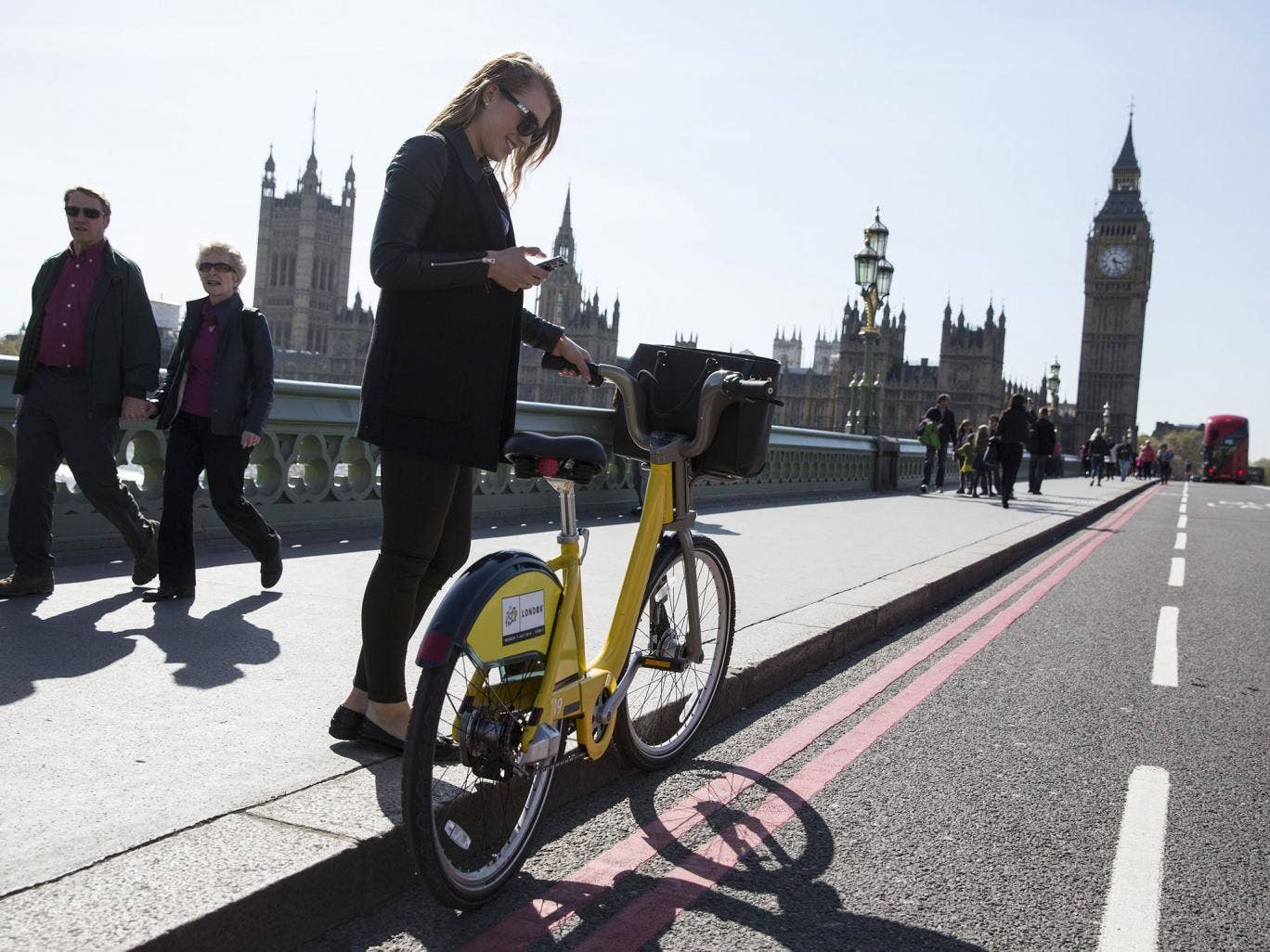 Tyred out: should fair weather cyclists have a separate slow lane?