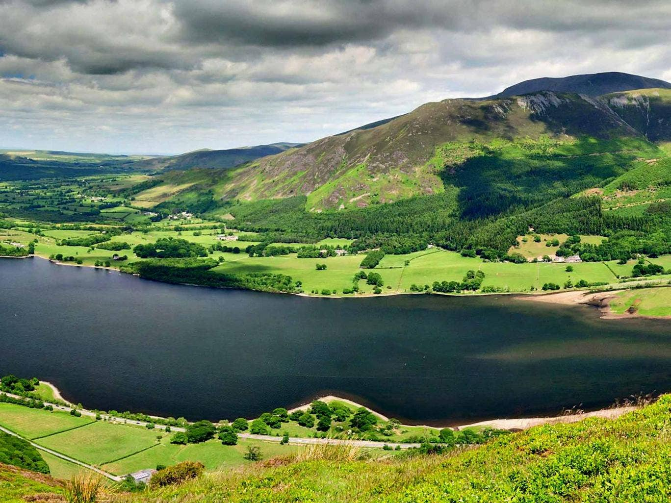 Water feature: Bassenthwaite is the only 'official' lake